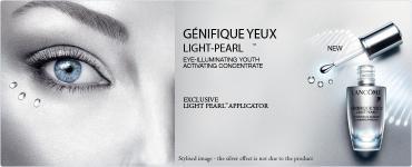 Lancôme predstavuje ďalšieho člena rodiny Génifique! Očný koncentrát Génifique Eye Light Pearl v cene 58 eur!